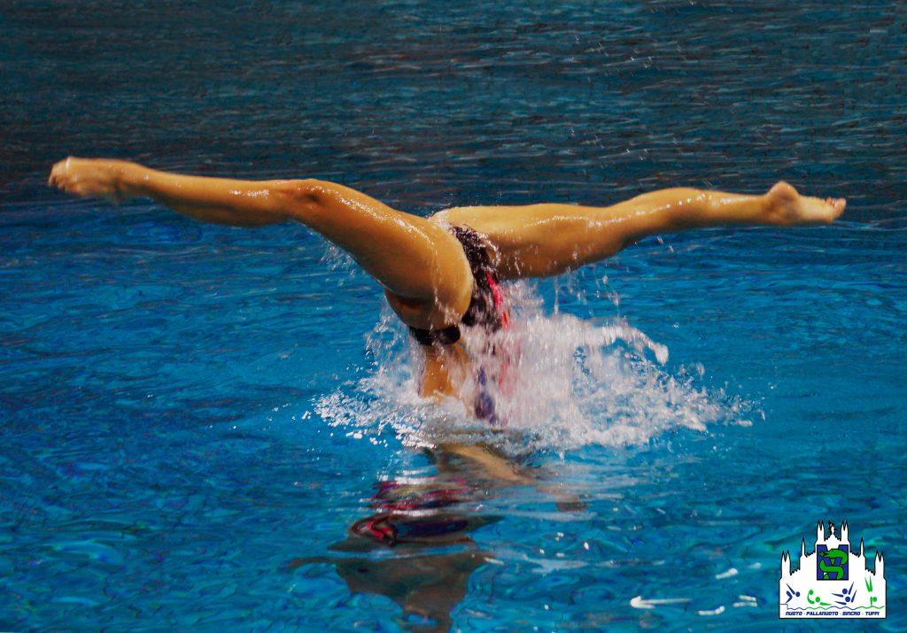 spinta nuoto sincronizzato